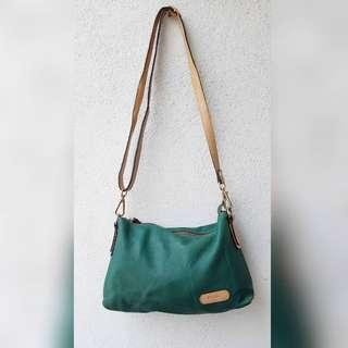 MELDA GENUINE LEATHER SLING BAG