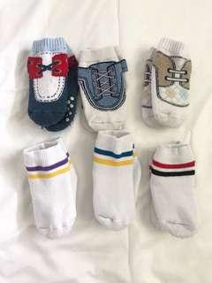 6-pair Socks 12m