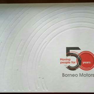 Moving People for 50years (Borneo Motor)