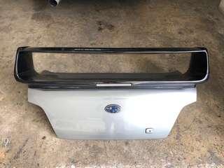 Subaru Boot Plus black Spoiler