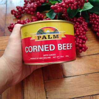 Large PALM Corned Beef with Juices [from California, USA]