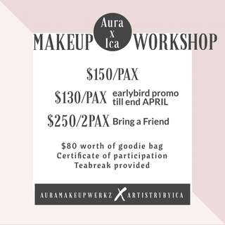 Personal Makeup Workshop