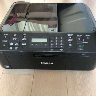 三合一Printer Canon MX418 連新墨盒家用印野一流