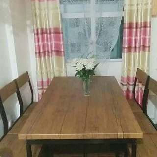 RUSH SALE!!! DINING TABLE 6 SEATER SALE!!!!