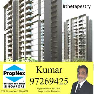 The Tapestry Condominium - Call me at 97269425 now for a no obligations exclusive VVIP preview