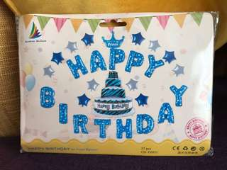 Party - Happy birthday Foiled Balloons for decoration