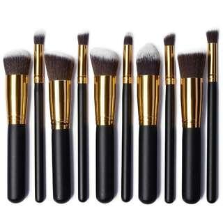 10 PCS Professional Makeup Brush Set