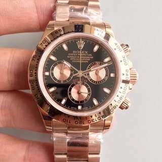玩表吧 見面交收 Rolex 勞力士 daytona 116505 40mm 玫瑰金 計時 JH出品