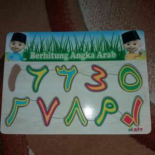 Puzzle Iqro