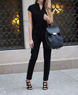 XS ARITZIA Black Jumpsuit mrrp $160, now $60