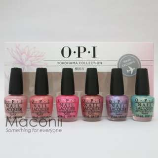 OPI Yokohama Travel Set Collection