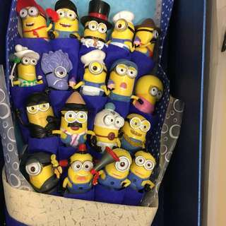 Minion figurines Bouquet
