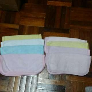 Baby face towel 8 pieces