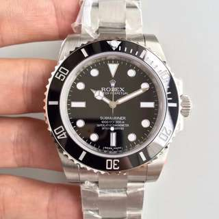 玩表吧 見面交收 Rolex 勞力士 submariner 114060 40mm 盲十 Noob出品