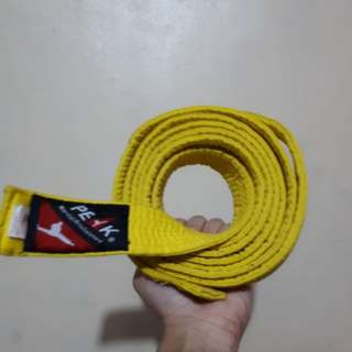 Original Peak Yellow Belt Taekwondo