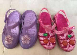 Girl Shoes Crocs Size 10