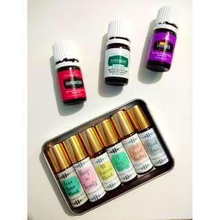 Essential Oil Blends: 2% and 5% dilution in 5mL