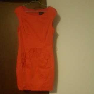Iroo紅色喜氣洋裝