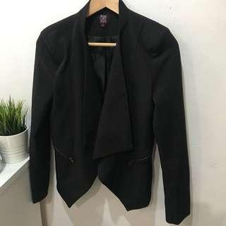 Black Blazer Jacket - Size M