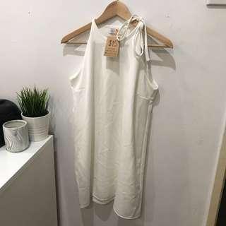 White Loose Dress