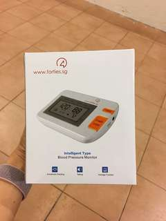 New Blood Pressure Monitor