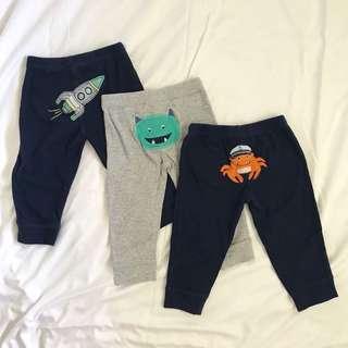 3pc Carter's Pants 12m