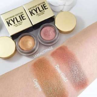 AUTHENTIC Kylie Creme Eyeshadow Rose Gold LIMITED EDITION LAST PIECE 💯% ORIGINAL