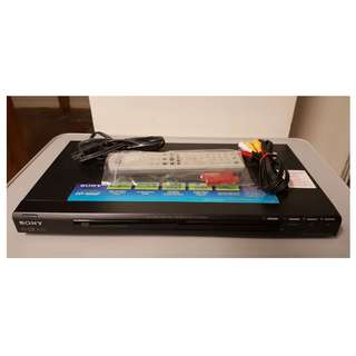 Black Sony DVP NS50P CD & DVD Player