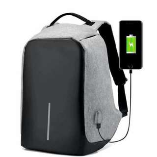 Anti theft back pack