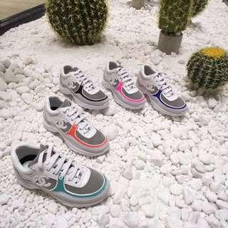 2018 chanel sneakers 波鞋 真皮