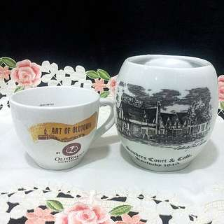 VTG 2 unit Advertisement Mugs