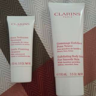 [BN] Clairns Gentle Foaming Cleanser and Exfoliating Body Scrub