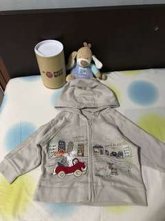 「new」next baby coat 貼繡外套(9-12 months)