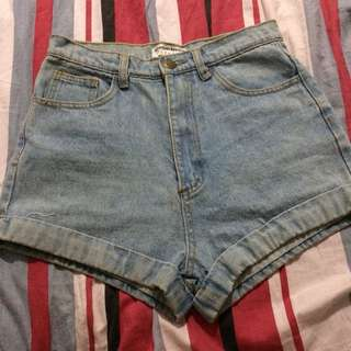 American Apparel Highwaist Short