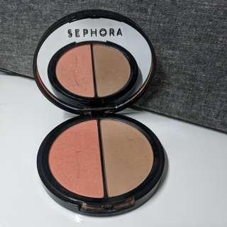 Sephora blush and bronzer duo