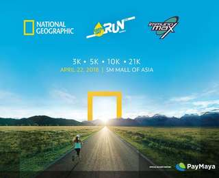 Natgeo Run 2018 - 21km Race Bib -