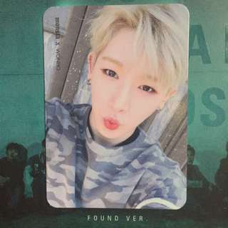 [WTB]Finding any Monsta x's Wonho & Group photocards