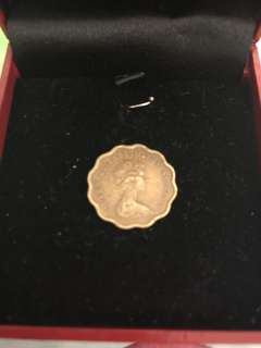 英女皇頭1977 兩毫 HKD two cent 40年歴史 有收藏價值