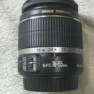 Canon len EF- S 18-55 mm F3.5 IS.