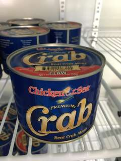 Chilled crab meat