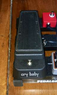Dunlop Cry Baby GCB95 True Bypass Mod