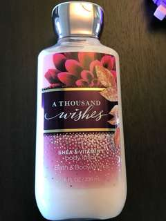 Bath & Body Works A Thousand Wishes Body Lotion 236ml / 8 oz