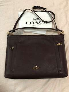 Brand New Authentic Coach Scout crossbody/shoulder bag in Oxblood