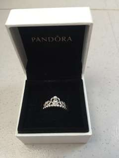Authentic Pandora Tiara Ring