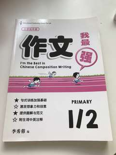 P1 Chinese Assessment Book