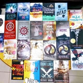 Brand new and Preloved YA Books!