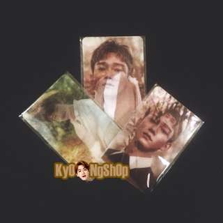 [WTS / READY STOCK] EXO OFFICIAL NATURE REPUBLIC LENTICULAR PHOTOCARD