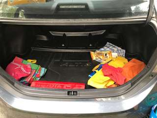 Corolla Altis G9 (2009) car boot tray