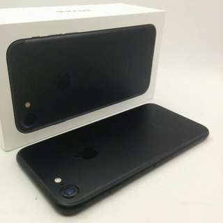 256gb 7 Matt Black With Free Glass Protector  All Original Accessories In Box  MHMAR