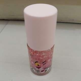 Miniso Nail Polish Pink Panther Glitter